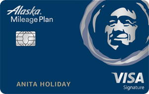 Alaska Airlines® Visa Signature® Cards