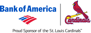 Cardinals/Bank of America logo