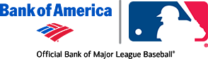 MLB/Bank of America logo