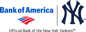 Yankees/Bank of America logo