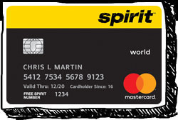 Spirit Airlines credit card